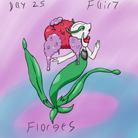 Florges 30 day challenge by HoneyShuckle