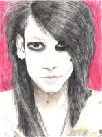 Ashley Purdy - Black Veil Brides Portrait Series by IzzyF