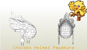 Chocobo helmet by Joshsonic8