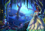 Princess Tiana by Silvercresent11