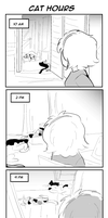 ToaG: Cat Hours by TriaElf9