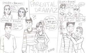 Glee Speculation Parental by cellytron