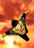 INVINCIBLE - SUNDAY 001 color by Soul-the-Awkward