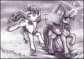 Midnight walk by Banthatic