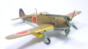 1:72 Ki-84 Hayate I by Zero-Cannard