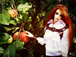 The apples of temptation. by AmeliaMadHatter