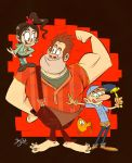 Wreck-it-Ralph by Themrock