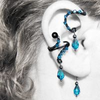 Indicolite Ear Wrap and Cuff v11- SOLD by YouniquelyChic