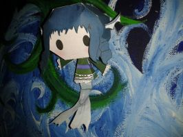 Wakasagihime Papercraft by HaoLRed