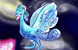 Galaxy Bird by Sulfura