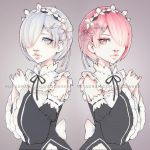 Rem and Ram by Ladowska