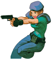 Jill-Marvel vs Capcom 2 PNG 1 by Isobel-Theroux