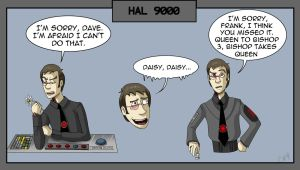 HAL 9000 (Human): Doodle compilation by Comedic44