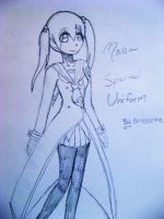 Maka Spartoi Outfit by EMBER44G