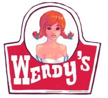 Wendys Logo by taho