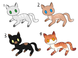 Warrior Cat Adopts (OPEN) by Adoptabelle