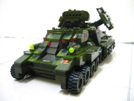 """Lego Mirage Tank """"Mix"""" 8 by SOS101"""