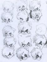 Facial expressions exercise by escofal