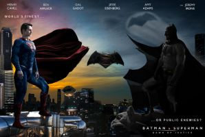 Batman v. Superman Jim Lee-Style Banner by fmirza95