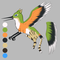 Griffin Character For Amathaze by OkamiWhitewings