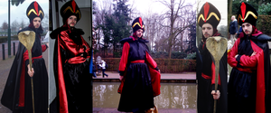 Jafar cosplay by laurensiobandini