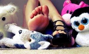 Stuffed Animals and Soles by darkenedhearte