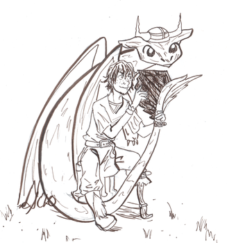 How to Train Your Dragon by Golden-Flute