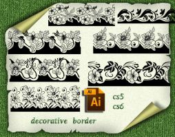 Ai  decorative border by roula33