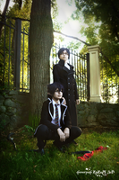 Okumura twins in park 10 by signore-illusionista