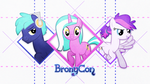 Bronycon Mascots Wallpaper by KibbieTheGreat