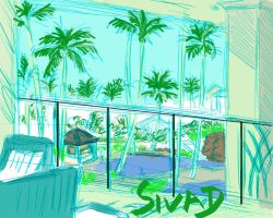 Marriot Lounge wip by Prismatic-Prince