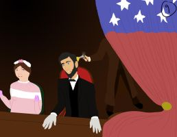 Abe Lincoln's Death by vynn-beverly