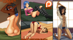 Patreon October 2016 Art Pack! by MLeth