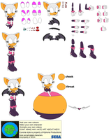 Character Builder-Sonic Heroes Rouge by Kphoria