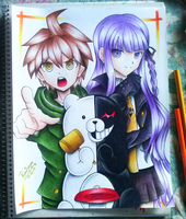 danganronpa the animation by stylable