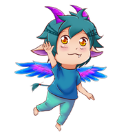 Chibi P.Commission: 004 by Floryblue12