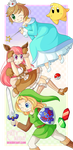 CE: Lightning and Friends In NintendoLand! by PatyKida