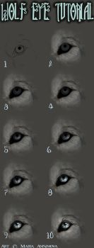 How I draw eyes by Yellow-eyes