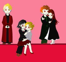 Aro's Dolls Colored by sweetsnow73