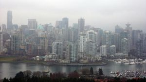 Foggy Scape Shorter Panoramic by CoFFeeZomBee