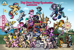 Bay Area Brony Spectacular 2014 Poster by SouthParkTaoist
