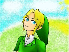 Link Ocarina of Time by MetaKnight125