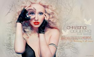 Header Christina Aguilera by shad-designs