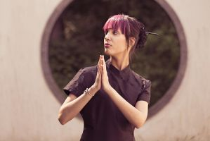 Praying To The Foreign Gods by harald-muehlhoff