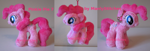 Pinkie Pie #7 (mini sized) by ManlyStitches