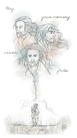 Farewell, Sons of Durin by KuroCyou