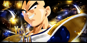 Vegeta Sig by RodTheSecond
