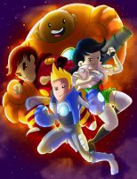 Bravest Warriors: Color by SemajZ