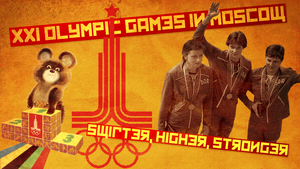 Olympic Games In Moscow 1980 by shimapa