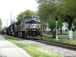 NS 9275 on Canal street by Joseph-W-Johns